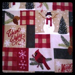 5' x 6' Christmas Blanket